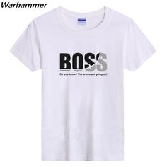"""Click to see """"Boss Printed Men's Tshirt"""" on Aliexpress. Please leave a comment if the button has broken link. Broken Link, Men's Clothing, Boss, Button, Printed, Mens Tops, Clothes, Fashion, Moda"""