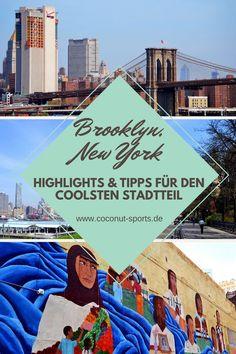 Sightseeing in New York: Brooklyn gehört zu meinen liebsten Stadtteilen in der Big City. Und das sind die besten Sehenswürdigkeiten und Things to do.