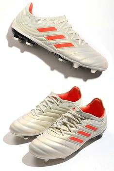 sports shoes ebc84 075b1 adidas Copa para niño. Botas de piel infantiles adidas suela FG para césped  natural o