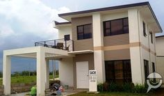 Philippines Affordable House and Lot For Sale - Mango grove house & Lot Batangas, 5 Bedroom House, Lots For Sale, Affordable Housing, House Front, Beach Fun, Condominium, Contemporary Architecture, Merida