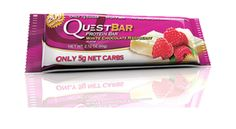 White Chocolate Raspberry Protein Bar 2.1oz - Oh My Green!