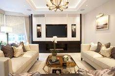 Luxury Living Room    JHR Interiors