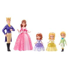 Disney Sofia the First Royal Family Giftset Works with Magical Talking Castle