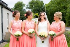 Bride and bridesmaids | Astra Bride Katie | Maggie Sottero gown Justina | New Zealand bride marrying in Cork Ireland |