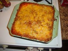 WLS friendly Mexican Lasagna... This is FABULOUS!