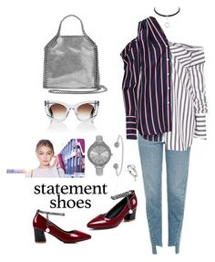 """""""Untitled #430"""" by mink-nppbv ❤ liked on Polyvore featuring SO & CO, Topshop, Asprey, Monse, Thierry Lasry and STELLA McCARTNEY"""