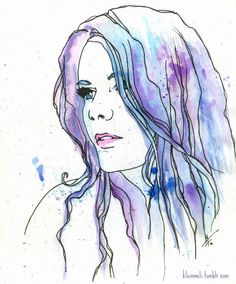 Image result for watercolour paintings women