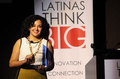"""""""If technology and Latinas are the future, what can't we do?""""--Eliana Murillo, Head of Multicultural Marketing at Google & #LATINASTHINKBIG Honoree"""
