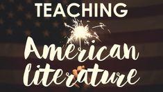 High School Books, High School Literature, Homeschool High School, Homeschooling, Teaching American Literature, Teaching English, English Teachers, English Classroom, Teaching Spanish