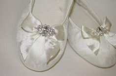 Lace Wedding Shoes  Flats by Parisxox on Etsy, $99.00 by ErinnK82