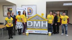 Staff & supporters from Bentilee Neighbourhood Centre really got into the spirit for Bring a Pound Day  http://www.dougiemacevents.co.uk/