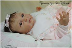 NEW Reborn Baby GIRL Lennox by Iris Klement    sweet baby
