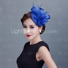 Custom T station serves high-quality linen cap fashion cap bridal headdress hair accessories hairpin Bridal Headdress, Headpiece, Fascinator Hats, Fascinators, Tulle, Hair Pieces, Pixie, Feather, Girl Outfits