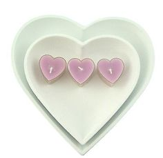 2 x wooden white #heart trays  #accessory with tea #lights gift,  View more on the LINK: http://www.zeppy.io/product/gb/2/291548346678/