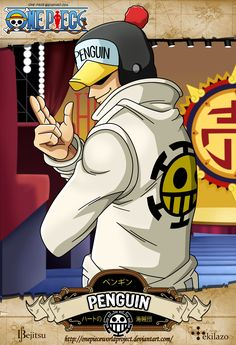 One Piece - Penguin by OnePieceWorldProject on deviantART