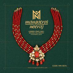 Indian Gold Jewelry Near Me Gold Jewellery Design, Bead Jewellery, Beaded Jewelry, Handmade Jewellery, Bead Necklaces, Antique Jewellery, Temple Jewellery, Gemstone Jewelry, Gold Jewelry Simple