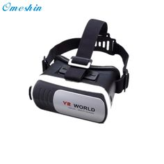 Headset Virtual Reality VR WORLD Goggles 3D Glasses for Google Cardboard Remote + Smart Bluetooth Remote Control Gamepad Dec7 #Affiliate