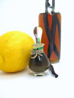 Vanilla Citron Natural Botanical Perfume Floral Fruity Gourmand Women Vegan Scent Organic Mimosa Black Tea. $150.00, via Etsy.