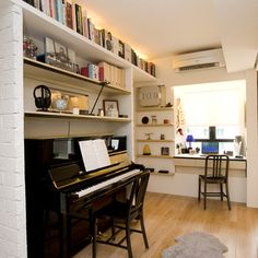 Piano Room Design Ideas, Pictures, Remodel, and Decor - page 2