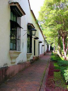 Vista de fachada Quinta Anauco. Museo de Arte Colonial. Caracas. Venezuela