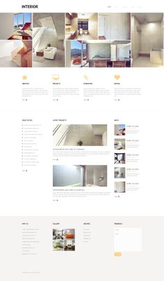 Check out the technical features, testimonials and hosting specifications before purchasing this premium Home Decor Responsive WordPress Theme ( Take pleasure in simple yet robust design. Best Interior Design Websites, Interior Design Programs, Boutique Interior Design, Interior Design Living Room, Design Bedroom, Wordpress Website Design, Wordpress Theme Design, Premium Wordpress Themes, Web Design