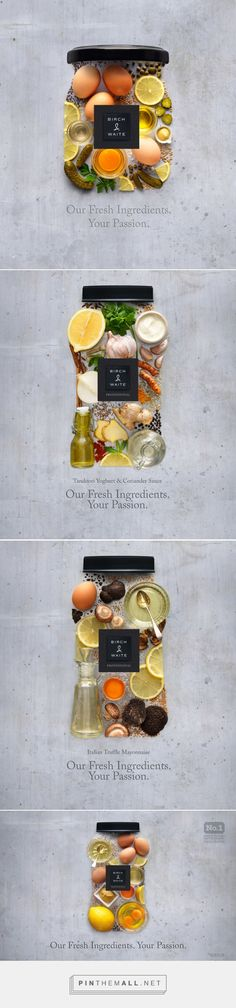 Sauce advertising campaign inspired by #packaging