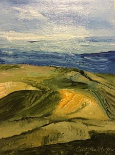"""Abstract Landscape 6"""" x 8"""""""