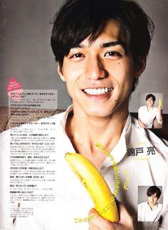 錦戸亮 関ジャニ∞ RYO NISHIKIDO his smile!! ^.^
