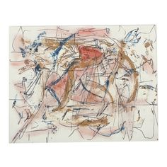 An oil painting with ink on unstretched linen of an abstract composition by well-listed American artist Ricardo Morin (Venezuela, b. The work depicts an abstracted composition with gestural . Modern Masters, American Artists, Vintage World Maps, Composition, Art Gallery, Museum, African, Oil, Abstract