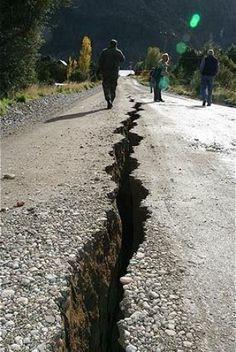 Crepe causate dal sisma