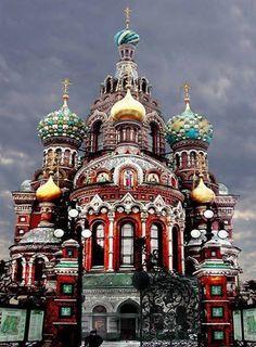 The Church of the Resurrection, Saint Petersburg, Russia. https://www.facebook.com/AmazingFactsandNature1?fref=nf