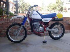 1982 KTM 495cc Dirt Bike. A Beauty!