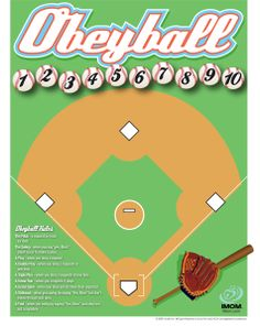 Practice following directions using baseball rules