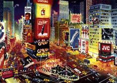 Alexander Chen: An Evening in Times Square at Art Gallery Plus