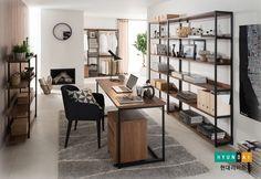 브릭 시리즈로 꾸민 서재의 모습 Library Study Room, Study Rooms, Living Room Chairs, Living Room Interior, Dj House, Nordic Interior, Interior Design, Home Organization, Furniture Decor