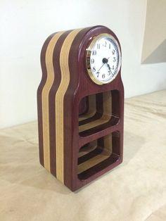 Bandsaw Clock - Purpleheart Birch