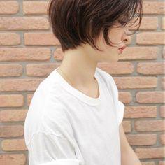 アッシュ ショートボブ ショート ナチュラル ヘアスタイルや髪型の写真・画像 ヘアスタイルや髪型の写真・画像 Hair, Strengthen Hair