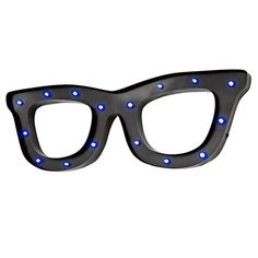 See You Vintage Look Black LED Wall Art Glasses, light up spectacles fun and quirky great gift ideas with free delivery direct from www.serendipityhomeinteriors.com