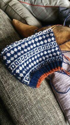 Work in progress. Nørgaard inspireret sweater :-)