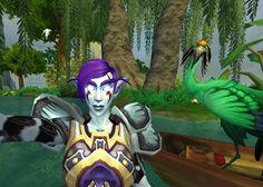 My new friend Greenfeather ;)  #Warcraft #selfie