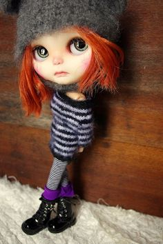 OOAK Tribeca Blythe Custom Tribeca Art Doll by KassandraBox
