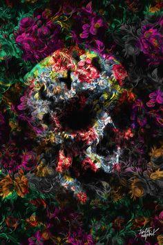 FANTASMAGORIK® FLOWERSKULL