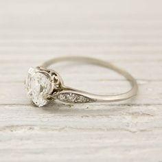#Vintage Tiffany #bague #fiançailles #mariage #wedding