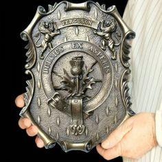 Ferguson family crest, and the Forgie name