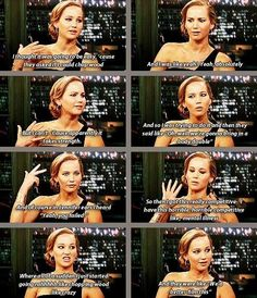 LOVE jennifer lawrence!