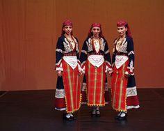 Rhodope, Bulgaria Изяществото на българските народни носии