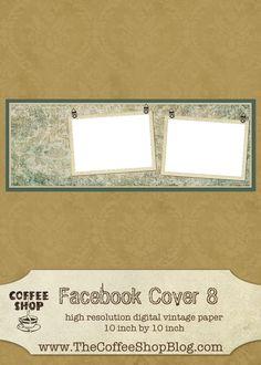 CoffeeShop Facebook Cover 8!