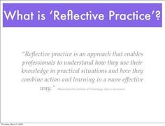 Image result for reflective practice
