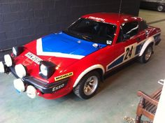 """HRW 251 V  The 6th  """"Works"""" LHD. TR7 V8  driven by Per Eklund / Timo Makinen / John Buffon .. Finished 1980 Daily Mirror rallysprint in 2nd place .. Buffon drove it on 1980 RAC , was used in the 1981 event painted in the """"Leycare"""" colour of silver."""