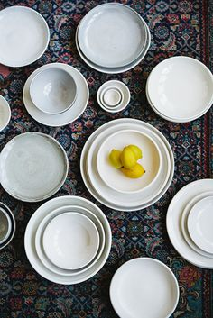 simple plates / bowls